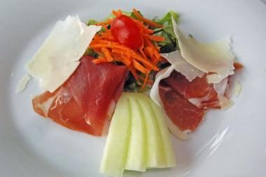 Ham & Melon Appetizer