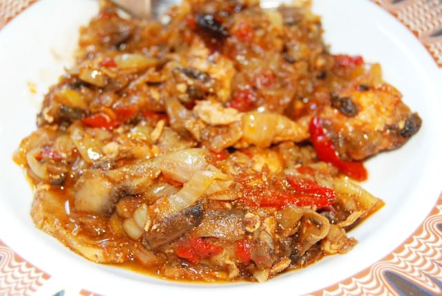 Bulgarian Chicken and Pepper Stew