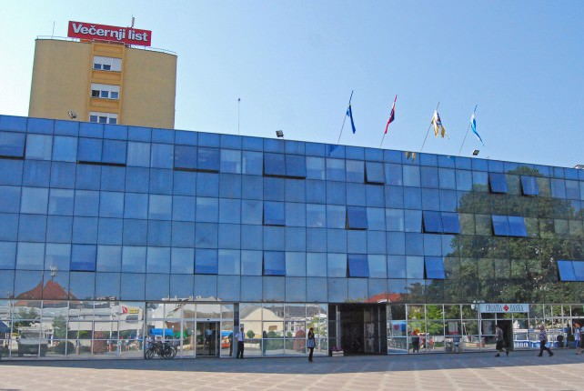 New Building at Franjo Tudman Square in Vukovar