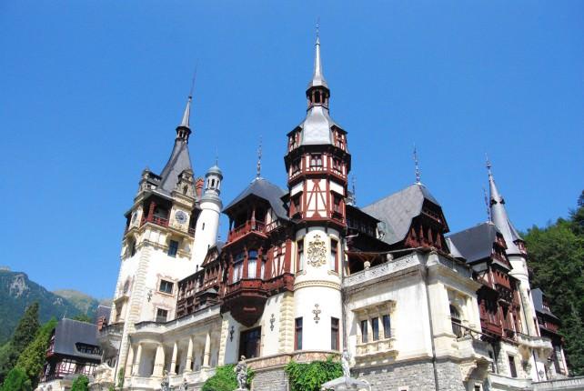 Peles Castle in Sinaia, Romania
