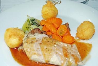 Roasted Pork Tenderloin with Port Wine Jus