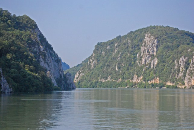 Cruising through Serbia and Romania on the Danube