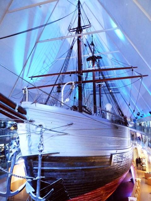 The Polar Ship at Fram Museum