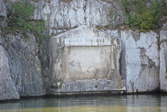 Trajan Plaque in Serbia