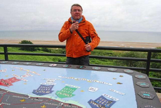 Globus Tour Director Vic Keber