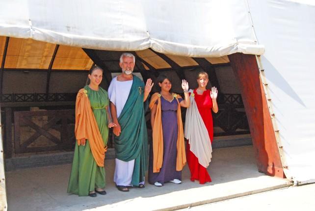 Viminacium Guides in Roman Garb