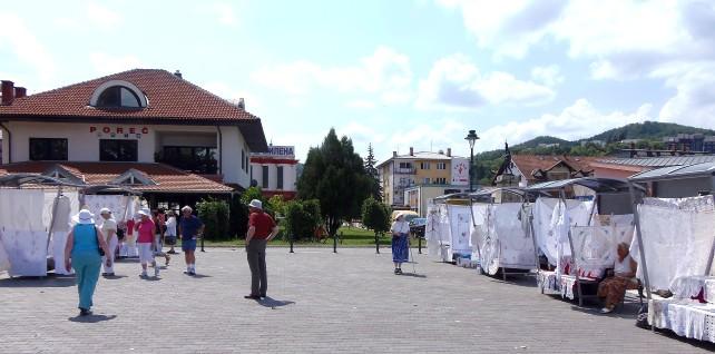 Local Crafts Market in Donji Milanovac. Photo Courtesy of Dan Dudek