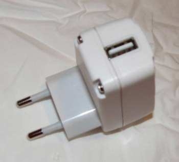 Adapter Plug - Photo Taken in Macro Mode