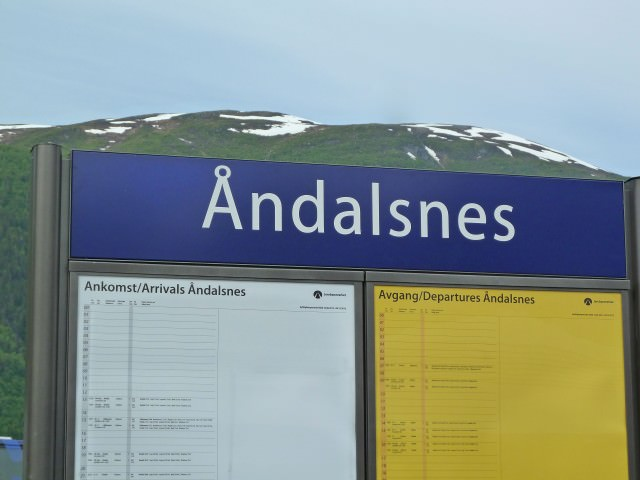 Andalsnes in Norway