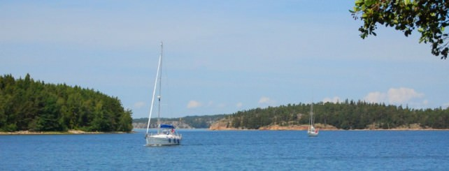 Ferry Ride to Seili Island