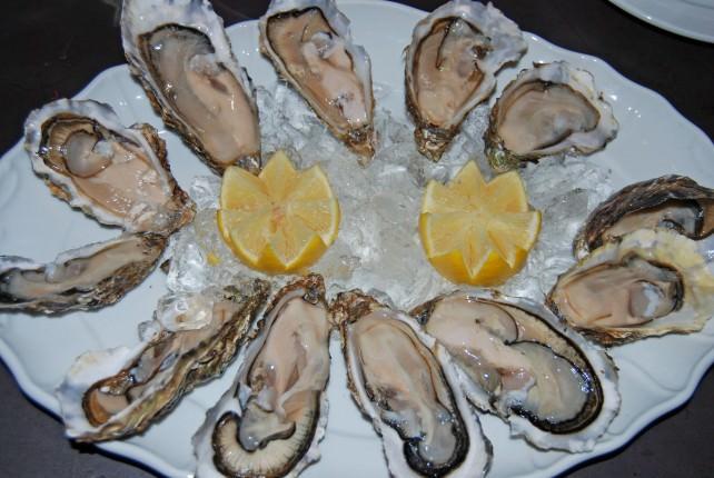 Ballynahinch Castle Fresh Oysters