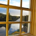Ballynahinch Castle - View from Guest Room