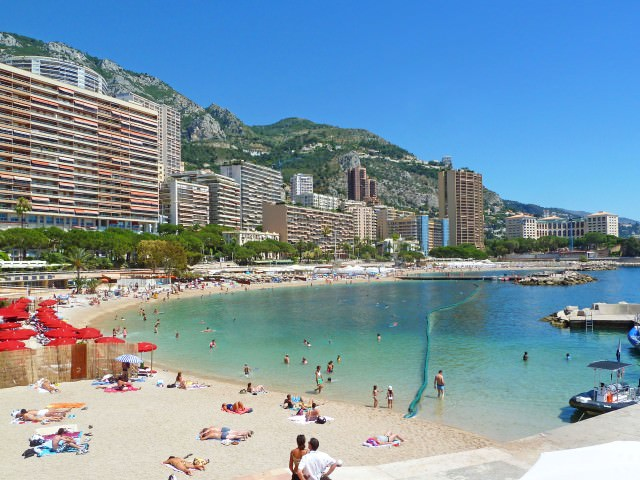 Beach Time in Monte Carlo