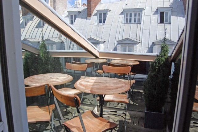 Hotel Cambon - Terrace of 7th Floor Guest Room