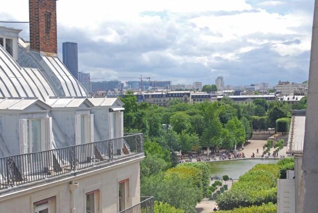 Hotel Cambon - View of Tuileries Garden