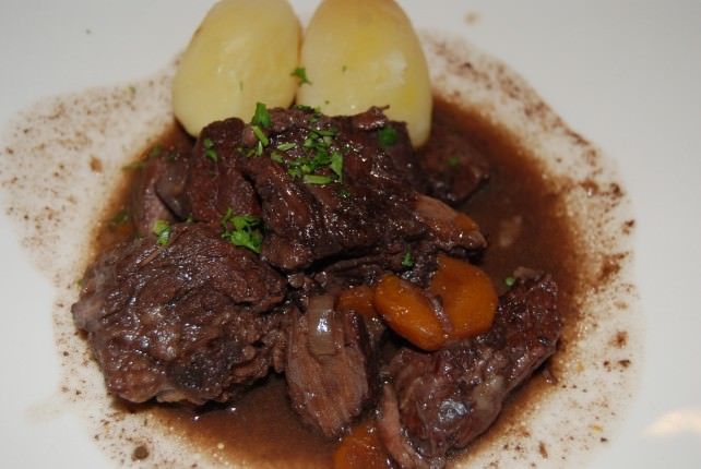 Veal Stew with Potatoes Main Course
