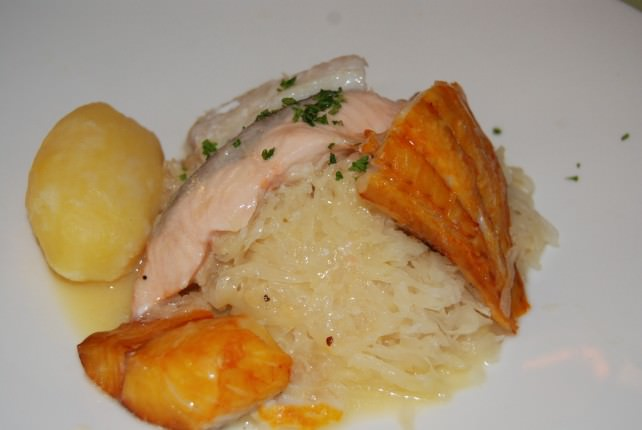 Smoked Salmon and Rice Main Course