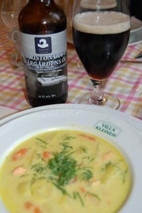 Dining at Martta's Inn in Krykbacken on Nagu