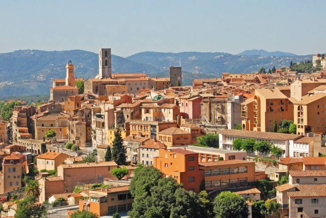 View of Grasse, France