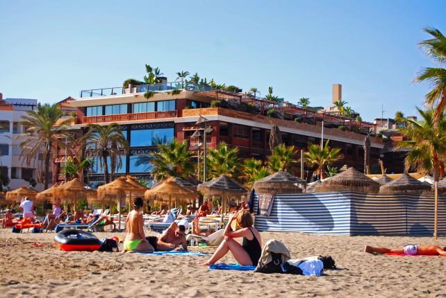 Guadalpin Banus Beach