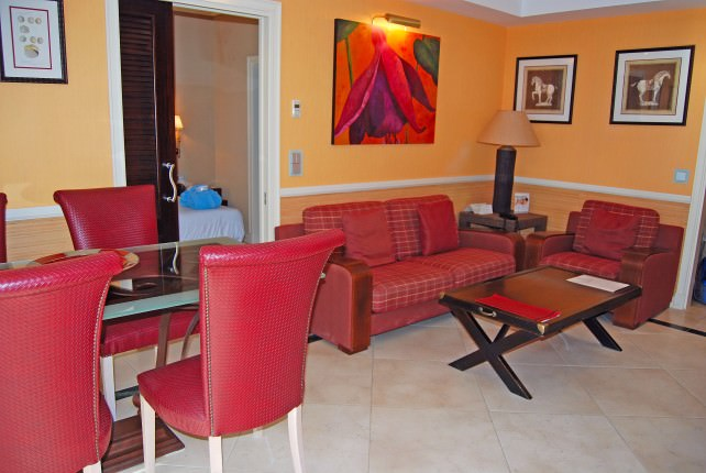 Guadalpin Banus Guestroom Living Area