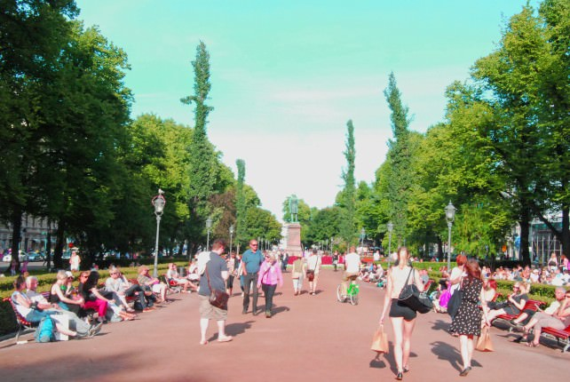 Helsinki Parks and Green Spaces