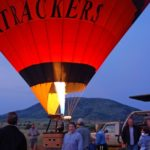 Jill Ready for a Hot Air Balloon Ride in Pilanesberg National Park