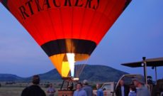 WJ Tested: South Africa Hot Air Balloon Ride in Pilanesberg National Park