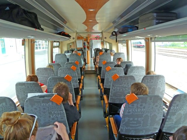 Rauma Railway Train Interior