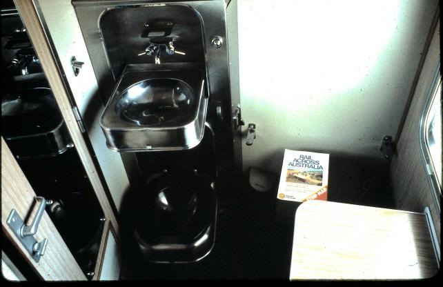 Train WC in Private Compartment