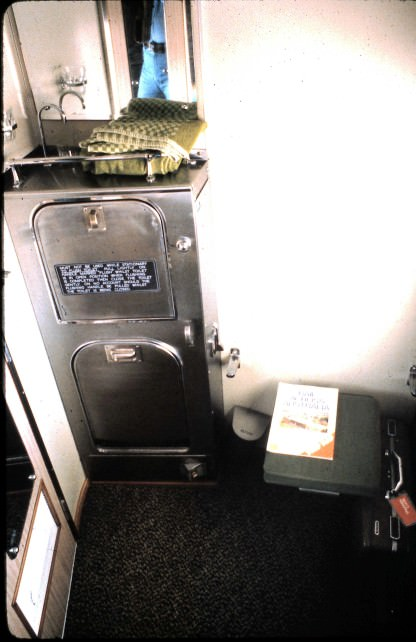 Train WC in First Class Private Compartment