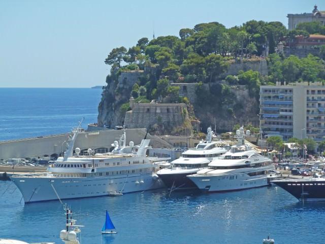 Yachts in Monte Carlo Harbor