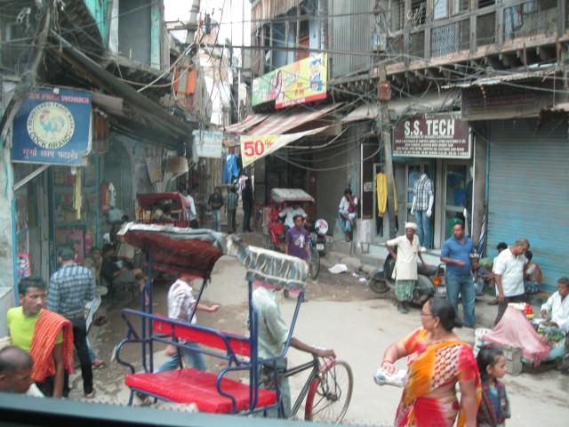 Old Delhi, India - Photo by David Dossor