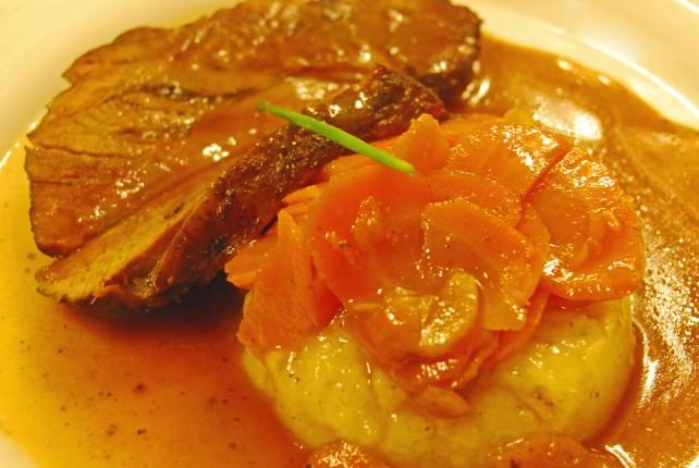Dinner in Lourdes - Main Course