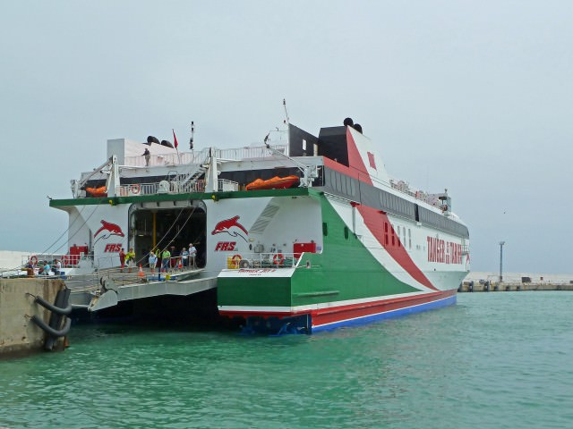 Ferry in Rabat