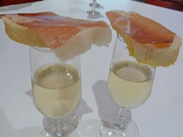 Jamon & Green Wine