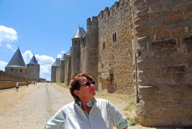 Jill Explores Carcassonne