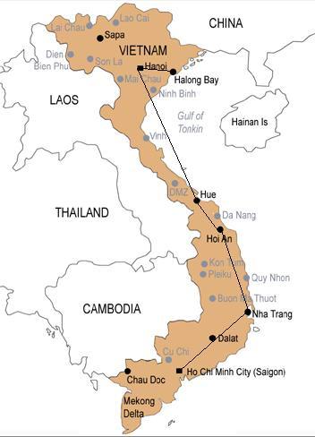 Ho Chi Minh Vietnam Map.Discovering Vietnam Ho Chi Minh City Iii Saigon Wavejourney
