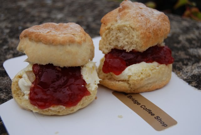 Cream Tea - Scones, Jam & Clotted Cream