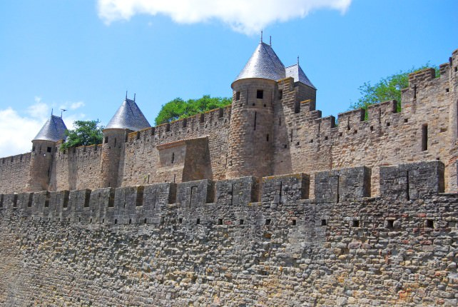 Walls Around Carcassonne
