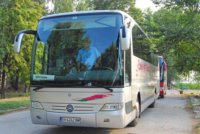 Bus to Varna and the Black Sea