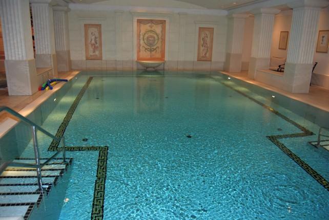 WJ Tested: 5-Star Hotel Adlon Kempinski Berlin Swimming Pool
