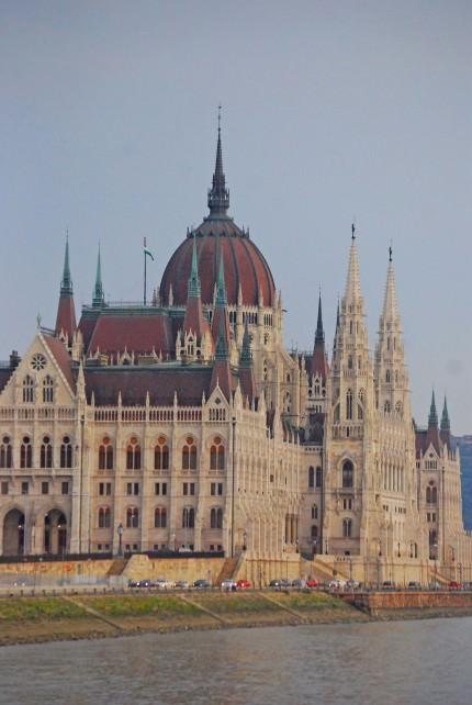Budapest Parliament Exterior
