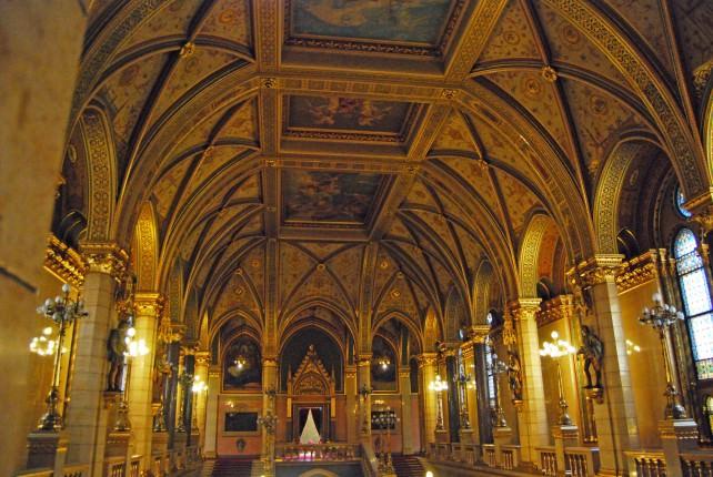 Budapest Parliament Grand Hall