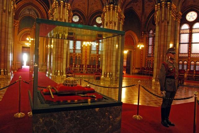Cupola Room - Hungarian Coronation Regalia