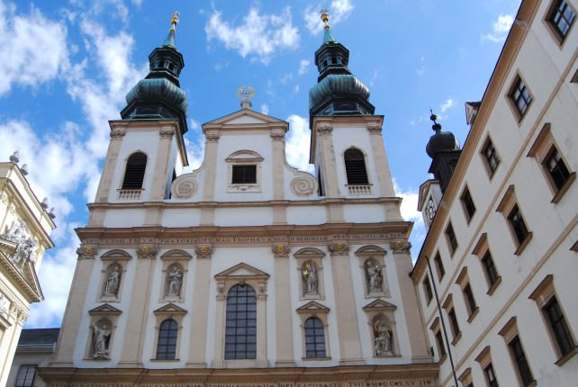 Jesuitenkirche - Jesuit Church in Vienna, Austria