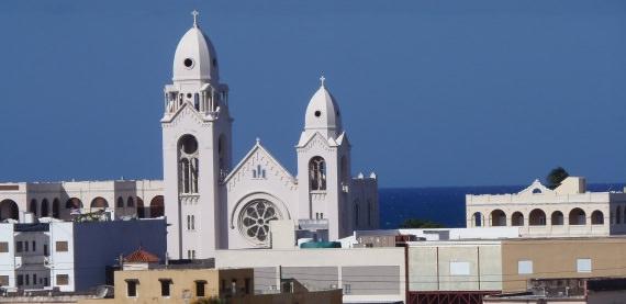 Church in Old Town San Juan, Puerto Rico