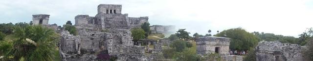 Tulum Mayan Ruins, near Cozumel, Mexico