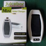 Juicebar Mini Multi-Device Solar Charger
