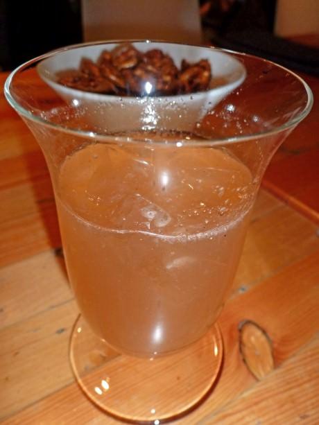 Chocolate Nib Infused Gin Cocktail